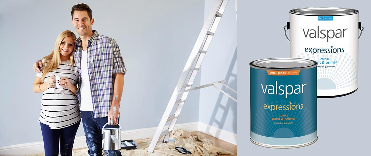 Enhance the look of any room with Valspar Expressions!